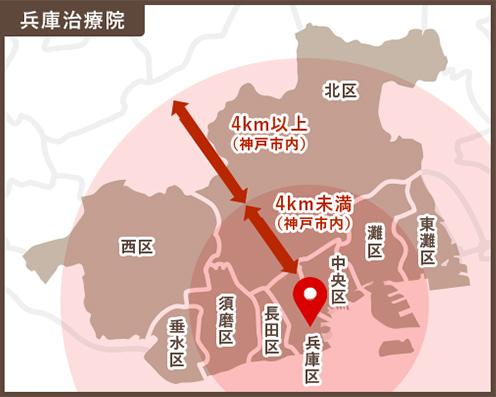兵庫治療院地図